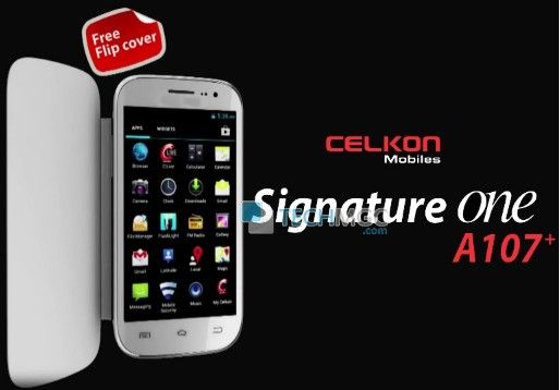Celkon A107+ dual core smartphone launched with descriptions and details