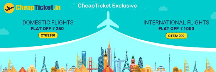 Get the best offers on flight booking & get deals and discounts on air tickets fares. Get your best Air fare Deal Now !