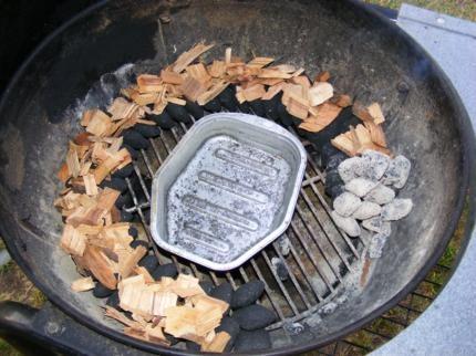 Pulled Pork på kuglegrillen.