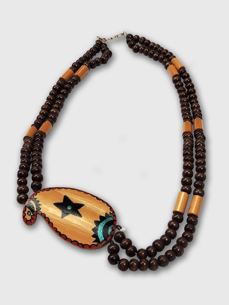 Beautiful Sterling hand-crafted jewellery made of bamboo and natural precious stones.