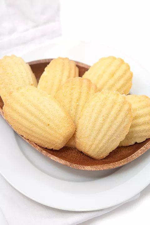Coconut Madeline Cookies