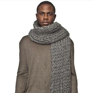 Select menswear styles available. @fantasticdmr x @Allysa Hollywood, scarf by @DylaniumKnits