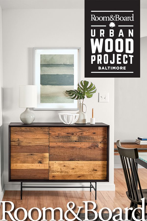 Furniture That Looks Good And Does With Our Urban Wood Project We Re Using Reclaimed From Abandoned Houses In Baltimore To Design Beautiful New
