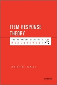Item Response Theory  by Christine DeMars