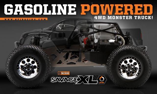 Frisch gebloggt: HPI Savage xl Octane - Der 4×4-Monstertruck Savage in einer neuen Version mit einem 15cm3 Zweitaktmotor!