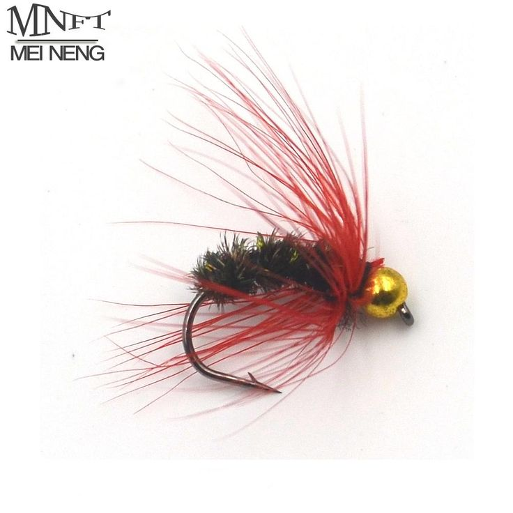 [Visit to Buy] MNFT 6PCS/LOT 11# Exquisite Fly Fishing Lure Single Hook Dry Fly Fishing Trout Salmon Flies Fishing Hook Lures Promotion Price #Advertisement