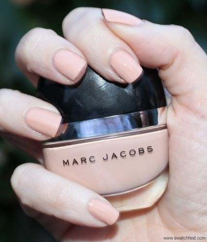 """Gorgeous nude peach: Marc Jacobs """"Funny Girl"""""""