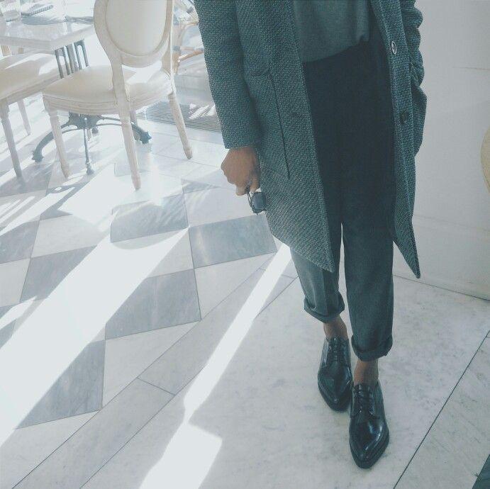 Grey matters. Tomboy style