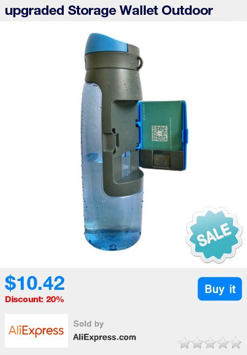 upgraded Storage Wallet Outdoor Sports Kettle 750ml Large Capacity Water Bottle Sports Drink Bottle * Pub Date: 22:42 Oct 21 2017