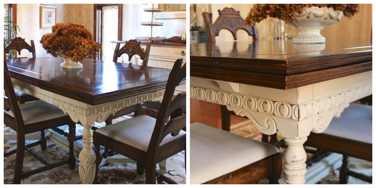 76 best old ochre chalk paint by annie sloan images on for Formal dining room paint