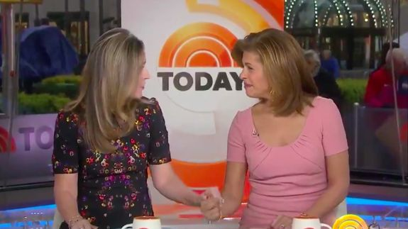 Watch the moment Savannah Guthrie and Hoda Kotb broke the news of Matt Lauers firing