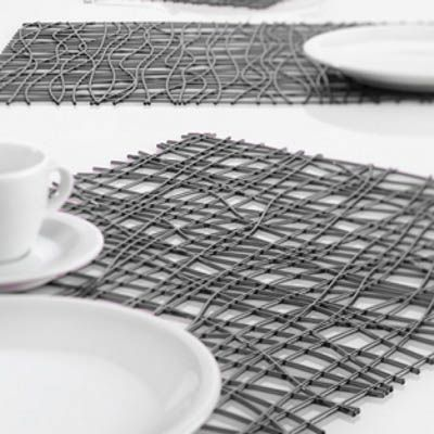 These placemats could be done easily with so many materials
