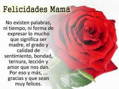 Resultado de imagen para Frases y poemas para dedicar a Mamá el Día de las Madres
