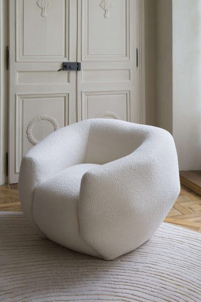 Armchair Assis(asy)métrie - The Invisible Collection