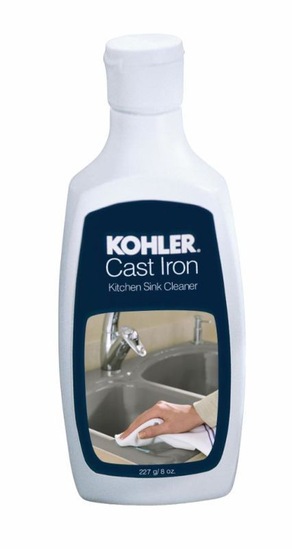 Kohler K-P1888 Cast Iron Kitchen Sink Cleaner 8oz Bottles Accessory Cleaning Solution