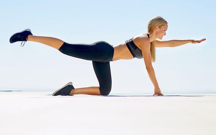 Diese einfachen Übungen sorgen für kräftige Bauchmuskeln, einen flachen Bauch und eine schmale Taille.