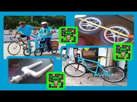 PVC PASSO A PASSO: Triciclo, Bike, Quadriciclo, Bicicleta infantil, f...