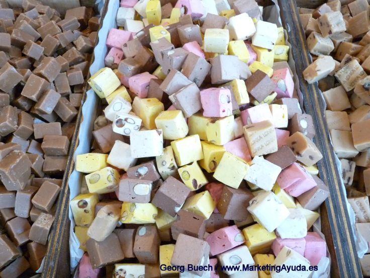 Caramelos en la Feria de Sant Ponç, Castelldefels, Barcelona