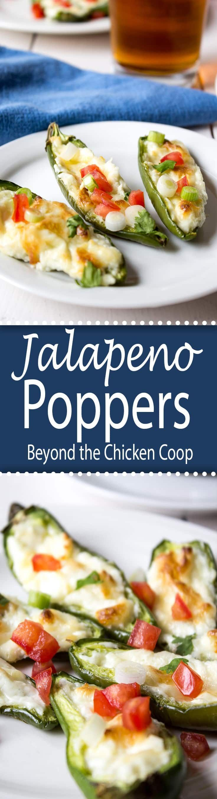 Spicy and Cheesy Jalapeno Poppers