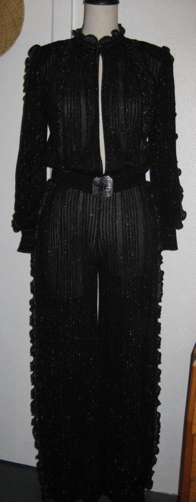 Vintage Italian Jumpsuit 1970s by ChinaAndOldStuff on Etsy, $245.00