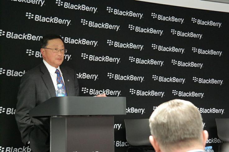 """John Chen, CEO de BlackBerry: """"No jugaremos a hacer teléfonos de 79 dólares"""""""