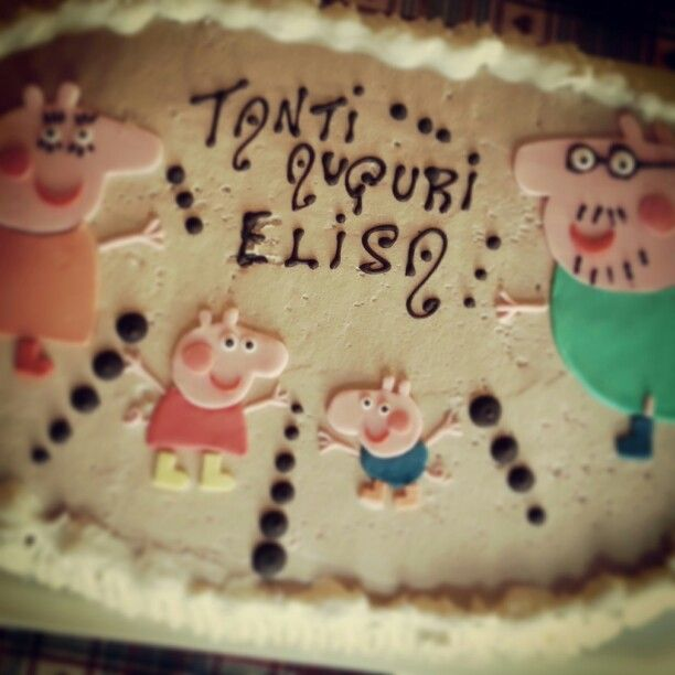 Elisa's birthday Cake