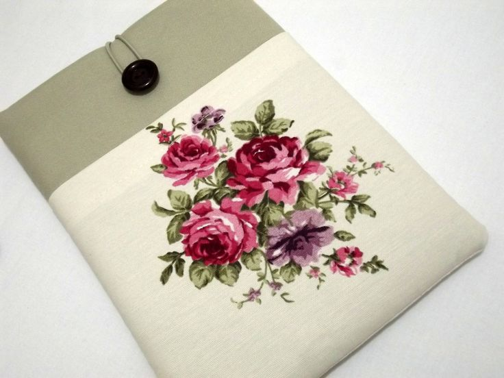 "Floral 15 inch macbook pro case, laptop case 15 inch,14 inch laptop sleeve, laptop case 15.6"",15"" laptop sleeve ,ultrabook case,macbook case by RCRAFTSS on Etsy"