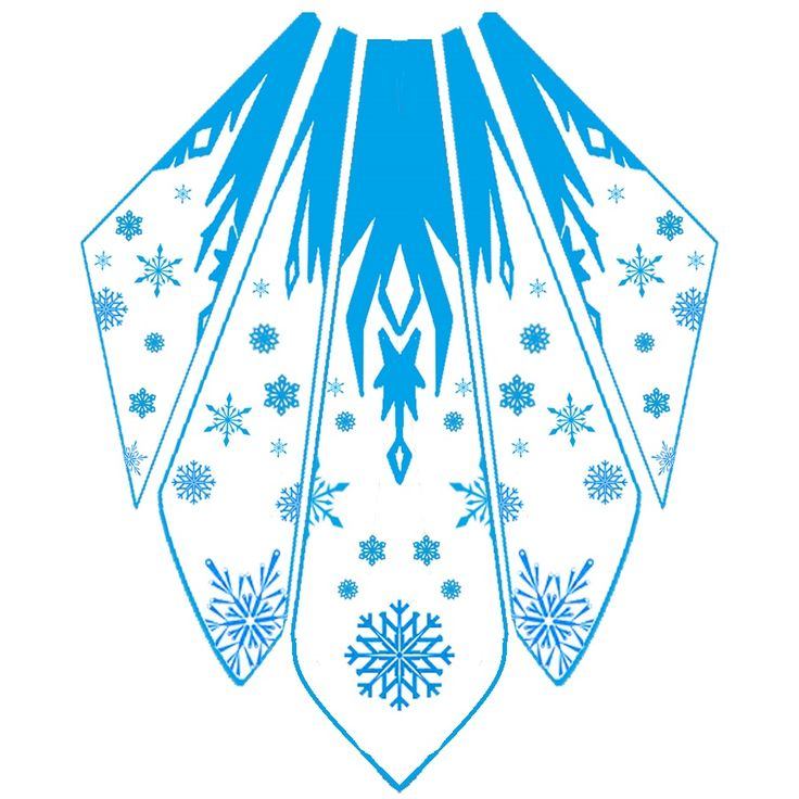 Elsa Cape Design by katinka0921 on deviantart. Super helpful!!