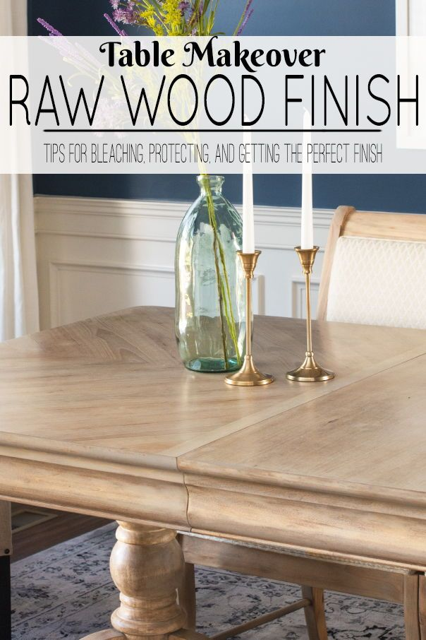 Creating A Raw Wood Style In Furniture In 2020 Raw Wood Furniture Raw Wood Furniture Painting Tips