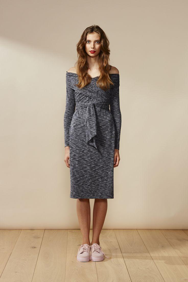 RUBY Sonnet Wrap Dress
