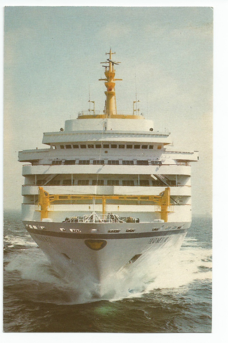 Home Lines Homeric Cruise SHIP Vintage Postcard  EBay