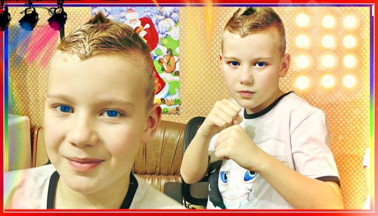 Стильная мужская стрижка. Stylish men's haircut.Детский Ирокез Mohawk Ha...