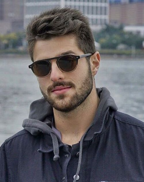 19 Of The Super Stylish Men Hairstyles And Haircuts For 2021 In 2020 Best Mens Sunglasses Mens Sunglasses Trending Sunglasses