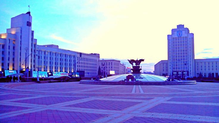 Площадь Свободы, Минск, Беларусь