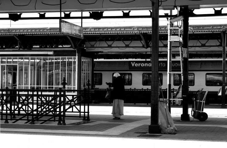 WAITING FOR THE TRAIN   #train #people #station #urban #streetphotography #500px