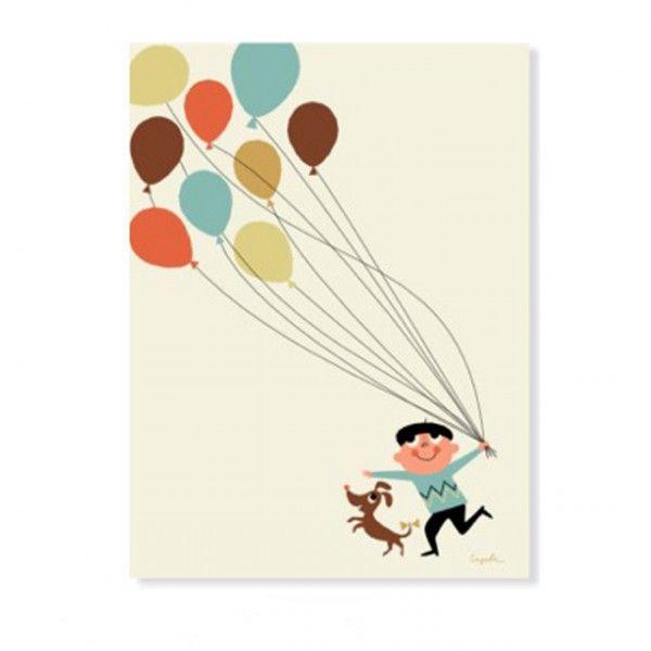 affiche Ballon Ingela P. Arrhenius OMM design - Deco Graphic