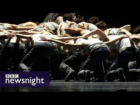 Can art effect change? Kirsty Wark meets choreographer Crystal Pite - BBC Newsnight - YouTube