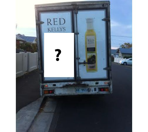 Have you voted yet? 48 hours to go! Be part of Red Kellys Tasmania's history by placing a vote for the one-liner you'd like to read if you were stuck behind Red Kellys Tasmania's truck, Red Ned. A, B, C, D or E? A. Investing in dressings, not trucks! B. Tasmania's best dressed secret! C. Red Kellys Tasmania's dressing - Guaranteed to disappear faster than this truck! D. Don't judge a dressing by its truck! E. Beautiful dressings, in beautiful jars, in an ugly truck!