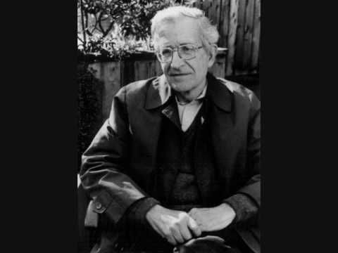 """Noam Chomsky discusses the slogan """"Support Our Troops"""""""