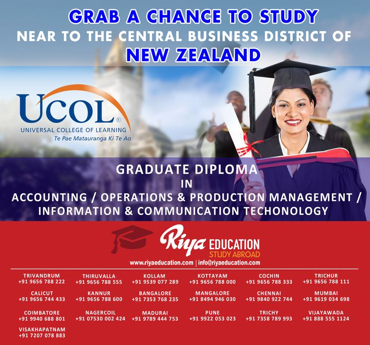 Grab a chance to Study!! Near to the central business district of New Zealand. Get in touch with Riya Education for more details on study abroad programs. Visit our website http://www.riyaeducation.com/ #NewZealand#studyabroad