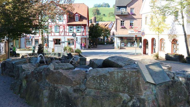 Bücherbrunnen in Wald-Michelbach