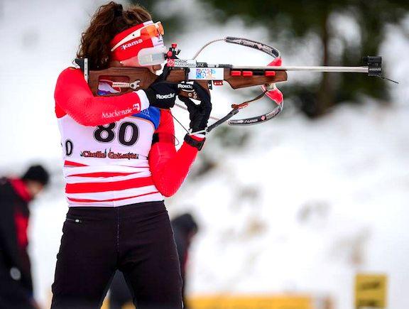 Canada's Megan Bankes Wins Biathlon Silver at Junior IBU Cup in Czech Republic