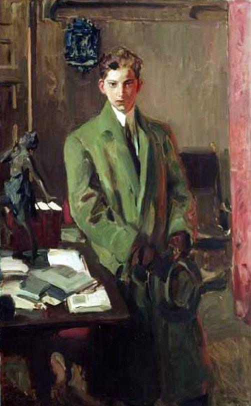 Portrait of Artist's Son, Joaquin Sorolla i Garcia - Joaquin Sorolla i Bastida, Spanish 1863-1923