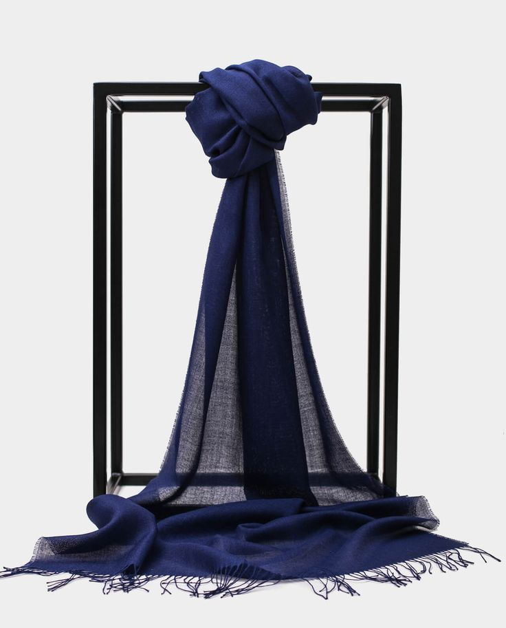 Exclusive Inti Granatowy Navy 70% BABY ALPACA + 30% SILK Made in Peru