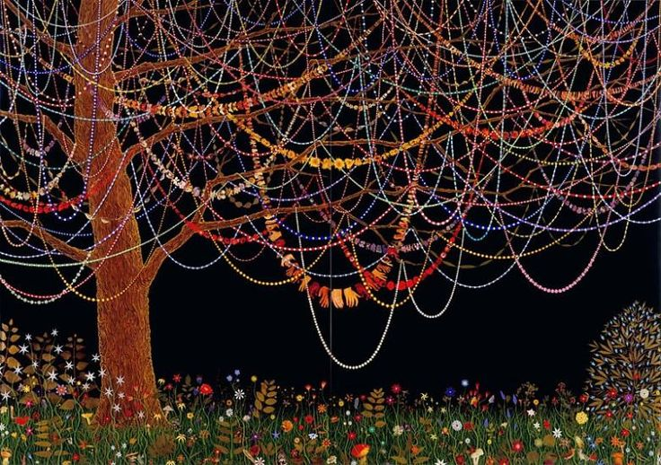 FRED TOMASELLI Hang Over, 2005 Leaves, pills, acrylic, resin on wood panel 84 x 120 inches