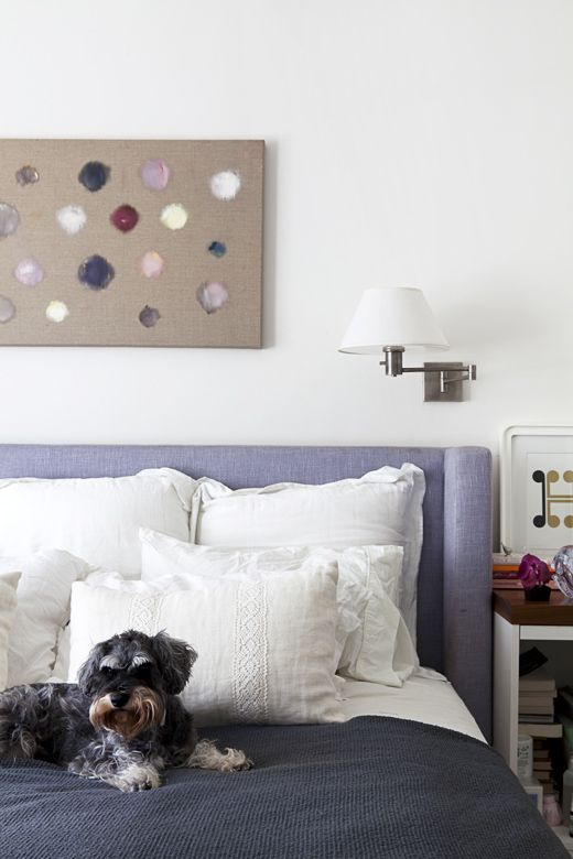 The Sydney home of stylist Heidi Gill and family.  All photos – Felix Forest, styling / production – Lucy Feagins.Decor, Art Work, Pastel, Design Dogs, Interesting Artworks, Heidi Gill, Belgian Linens, Design File, Linens Heidi