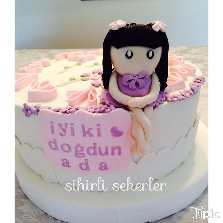 #birthdaycakes #happybirthday #fondantcakes #sugarart #iyikidogdun