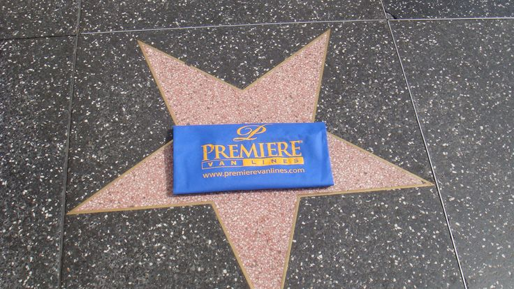 Premiere's Green is Blue Bag on the Hollywood Walk of Fame