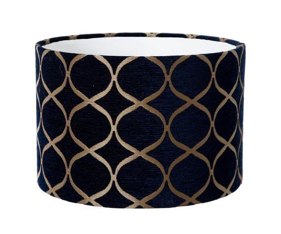 Lamp Shade, Fabric Drum Lamp Shades