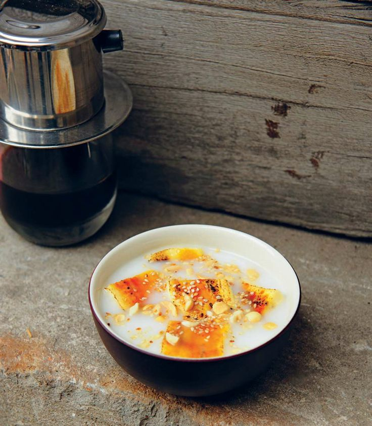 Banana and coconut soup by Tracey Lister from Vietnamese Street Food | Cooked